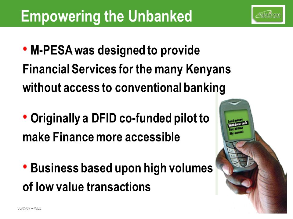 Empowering the Unbanked