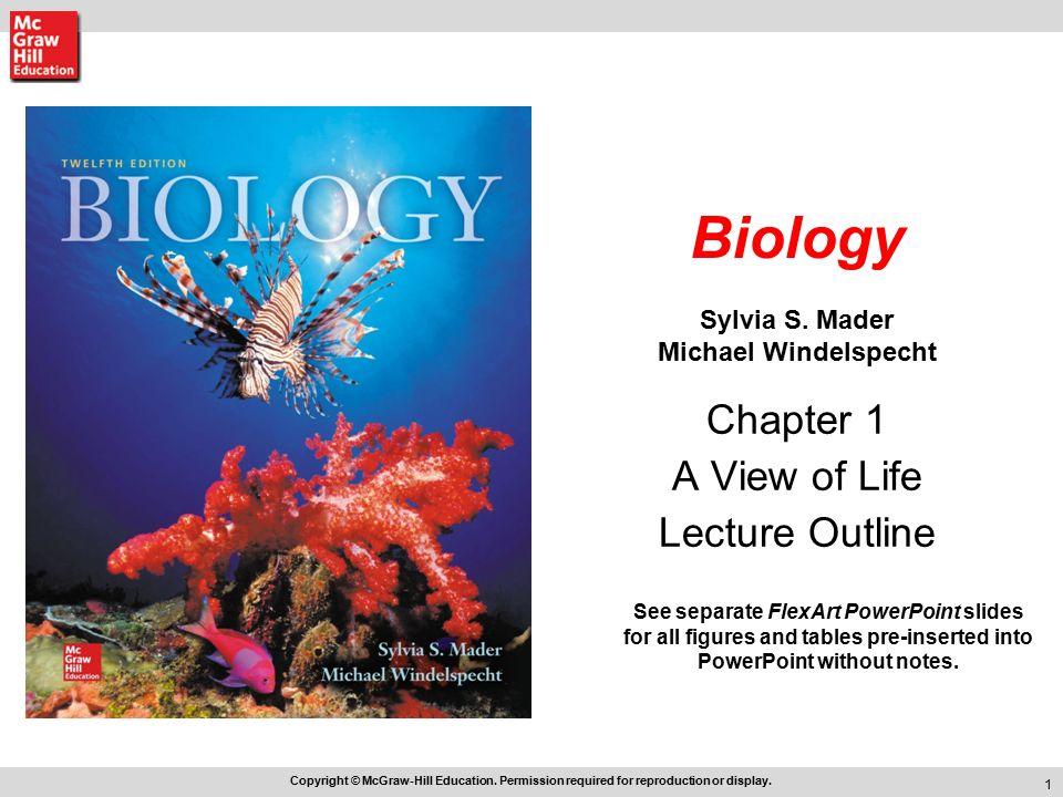 Biology Sylvia S. Mader Michael Windelspecht - ppt video ...
