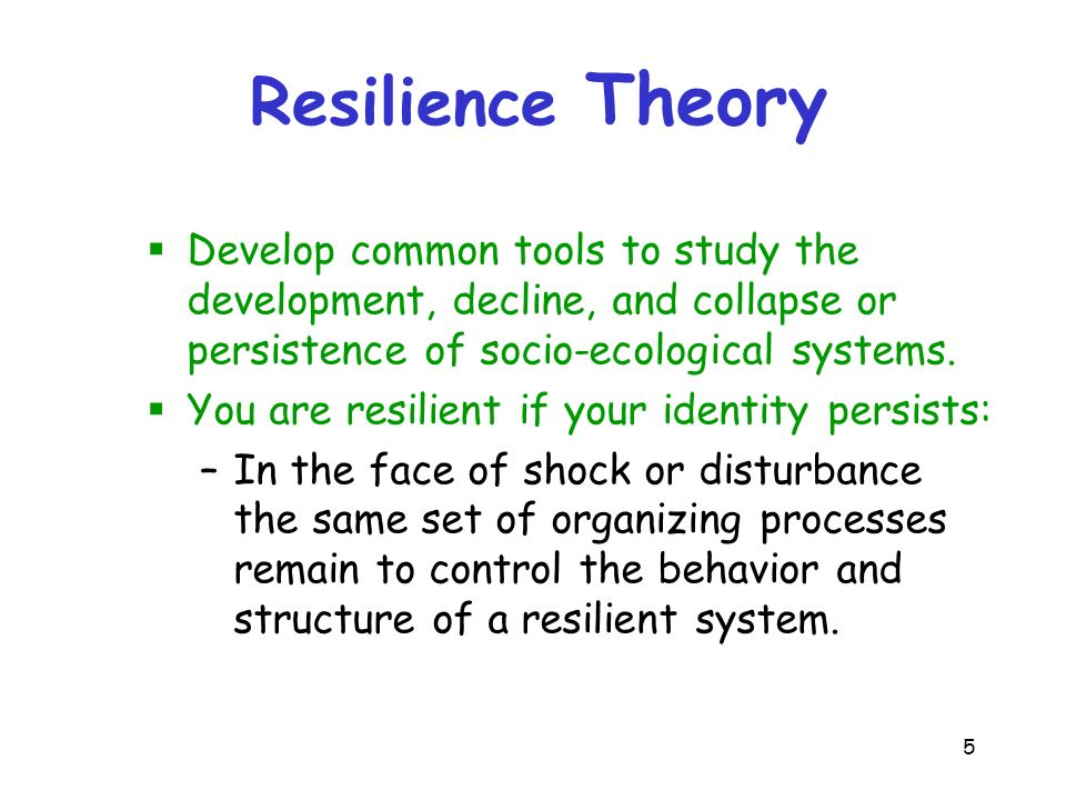 cu1404 resilience theorist Attachment theory john bowlby was a psychoanalyst and has developed his knowledge and understanding into the theory of attachment bowlby believed that children have been born programmed to form attachments which will help them survive this is known as evolutionary attachments.