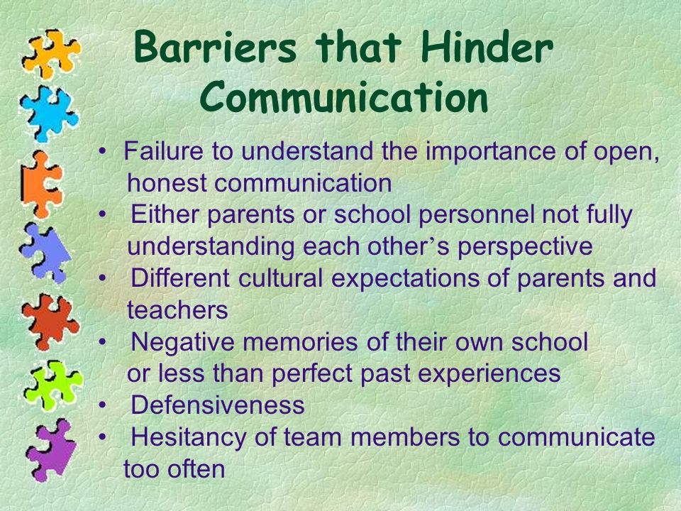 Barriers that Hinder Communication