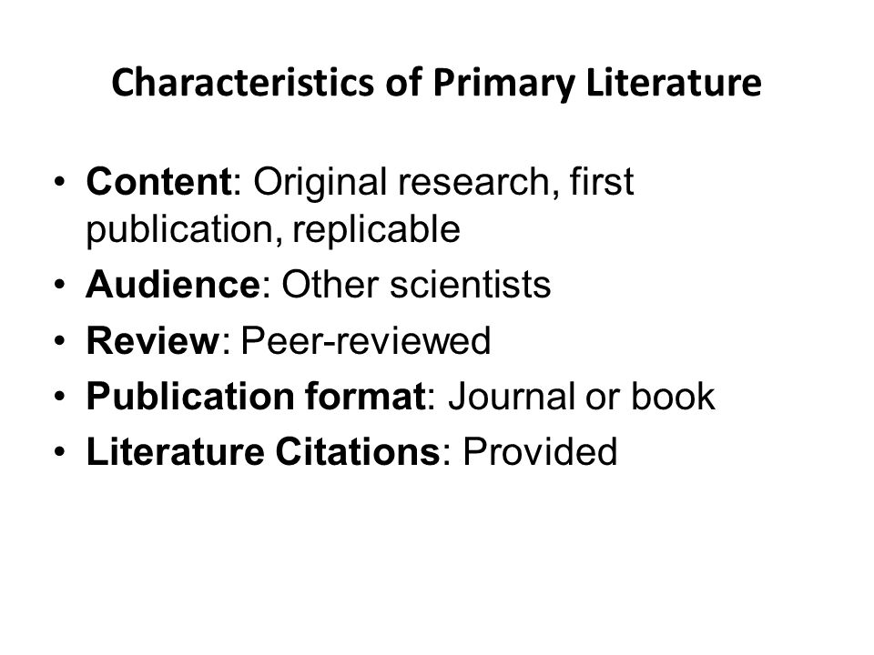 Features of literary essay