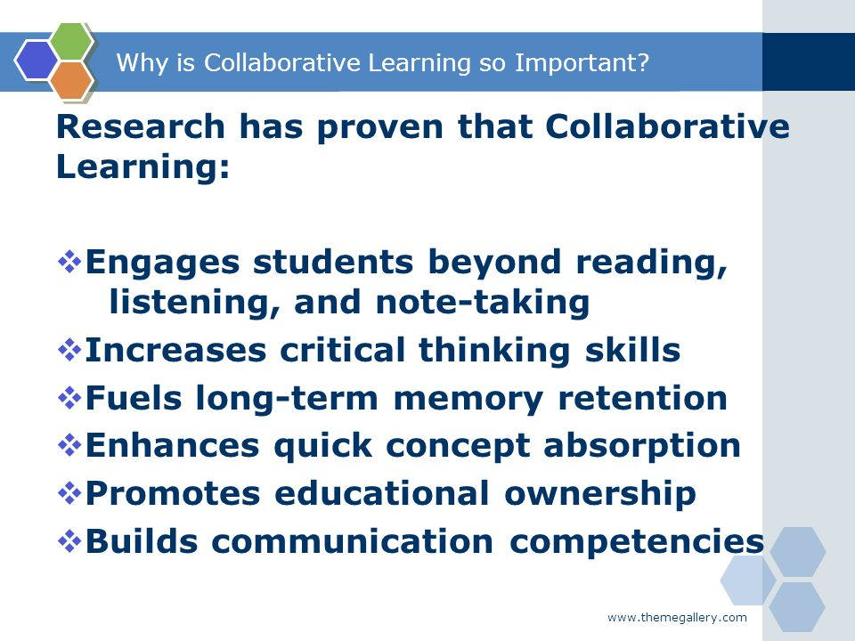 collaborative learning critical thinking definition Listed below are articles on critical thinking critical thinking and collaborative learning to define, assess, and teach/strengthen critical thinking at.