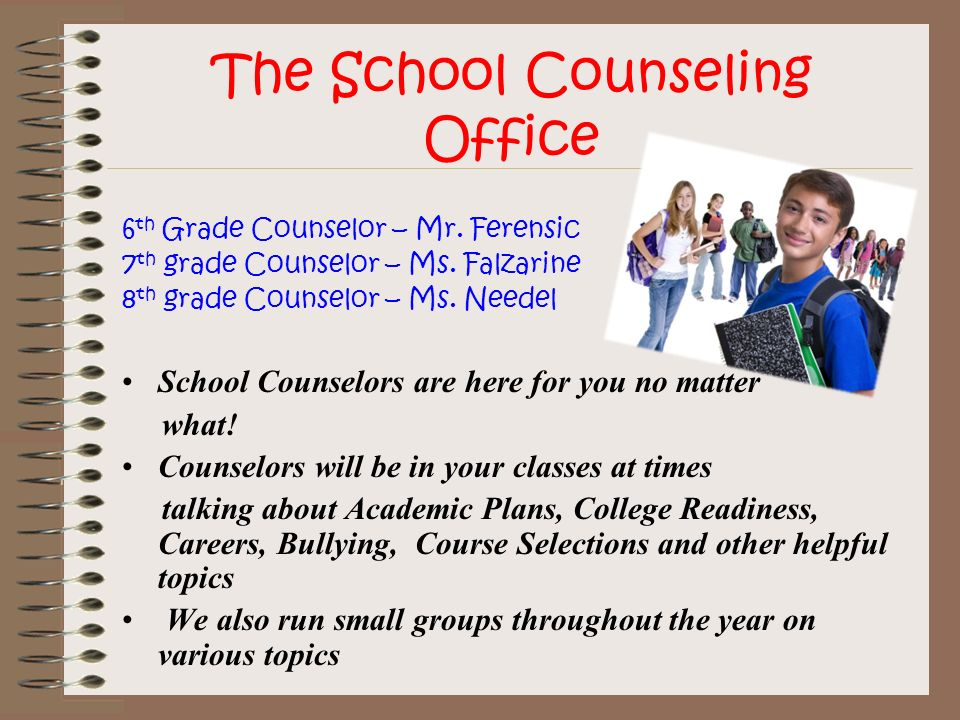 The School Counseling Office
