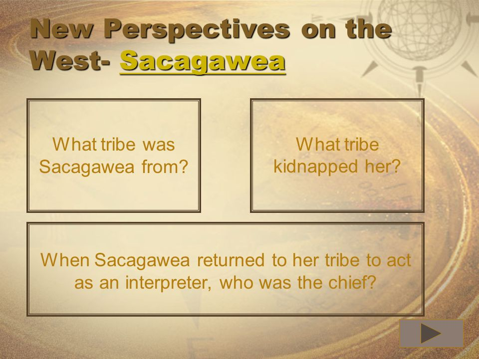 New Perspectives on the West- Sacagawea