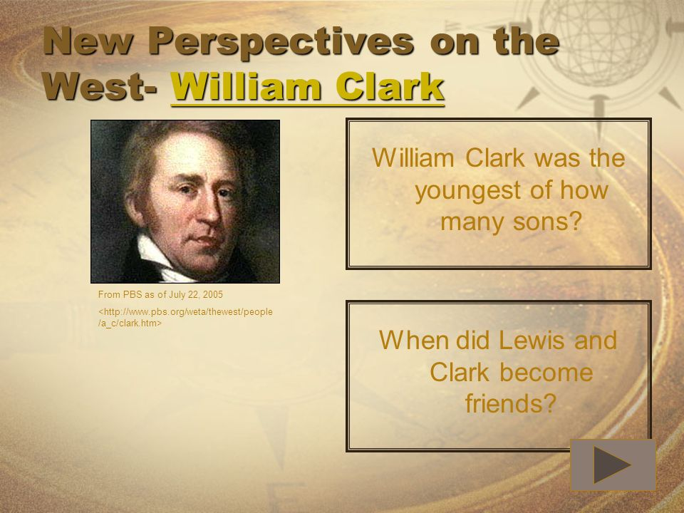New Perspectives on the West- William Clark