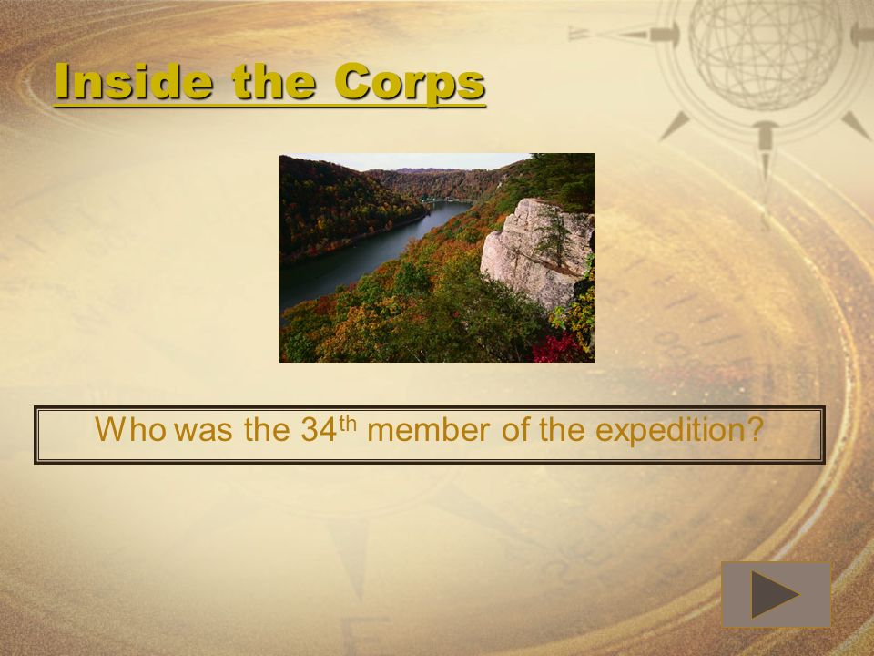 Who was the 34th member of the expedition