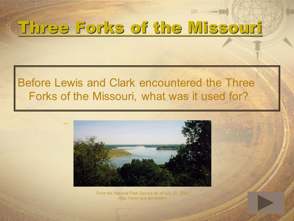 Three Forks of the Missouri