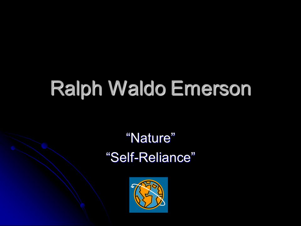 a comparison of emerson and whitman views of self Relationship between emerson and who wrote civil disobedience and walt whitman who wrote ones-self i the anti-transcendentalism views of.