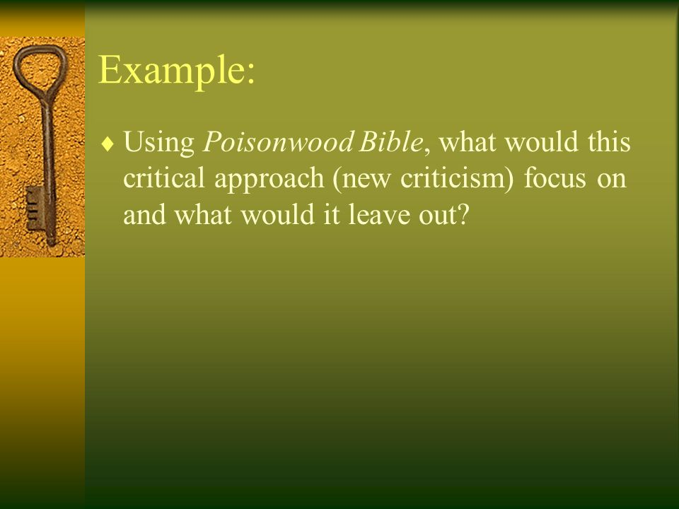 poisonwood bible character analysis essay example Essay about poisonwood bible character analysis 4 examples of great awards to put on a resume livecareer poisonwood bible character analysis.