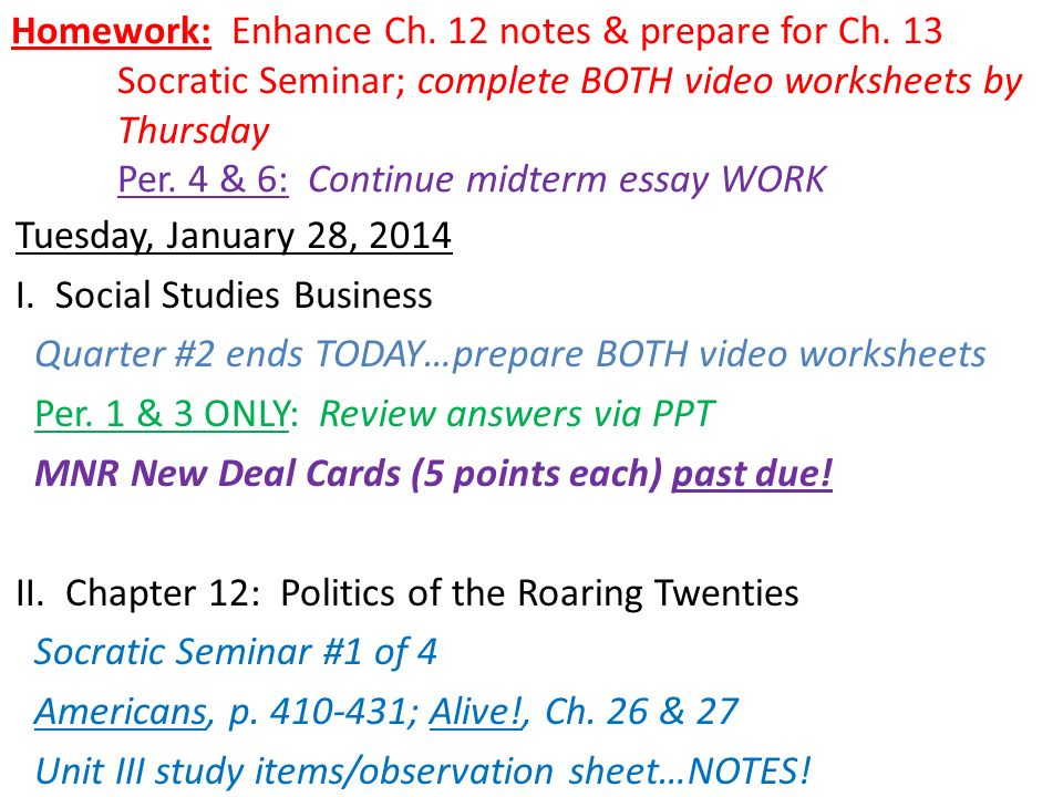 americans ch history alive ch ppt  2 homework