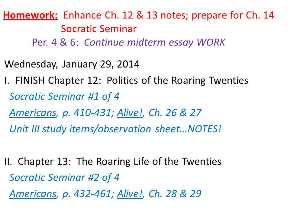 roaring 1920s essays