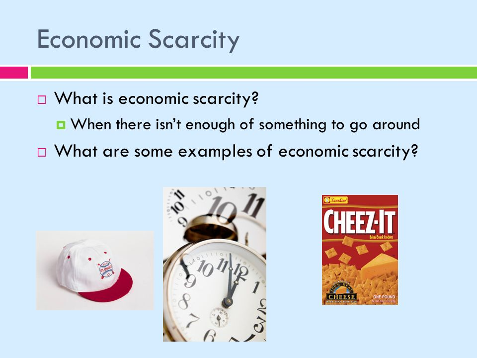 What is the difference between the concepts of scarcity and shortage?