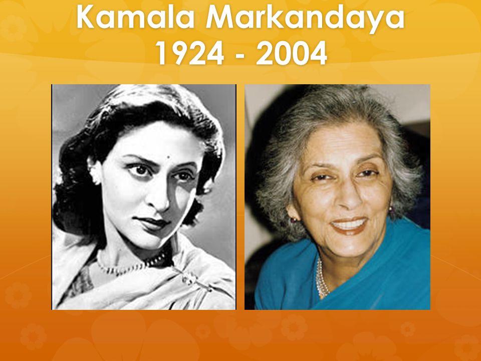 kamala markandayas nector and seive This lecture talks about kamala markandaya : nectar in a sieve.