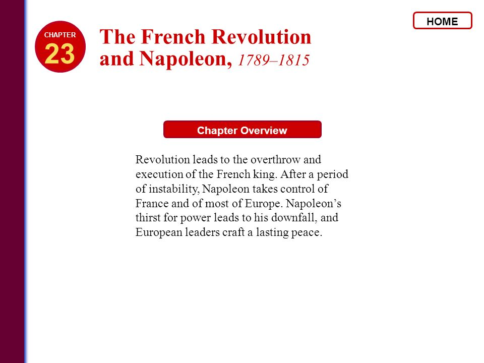 the french revolution 1780 1815 The french revolution and napoleon introduced a new era not only for france but also for europe and beyond a considerable part of the message of 1789 and succeeding years had already been announced in the british and american revolutions, but now it was to come over in complete form and at full.