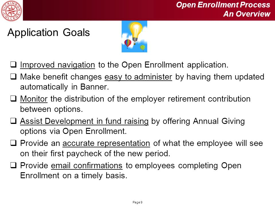Open Enrollment Process An Overview