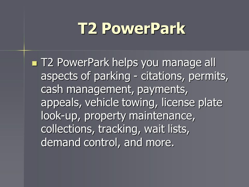 T2 PowerPark