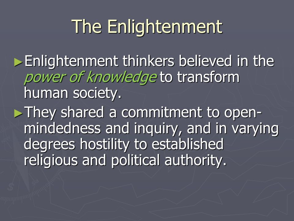 the influence of the enlightenment thinkers to the society Why did the french revolution divide american society thomas jefferson, the  1st amendment and the division of american church and state 10 facts.