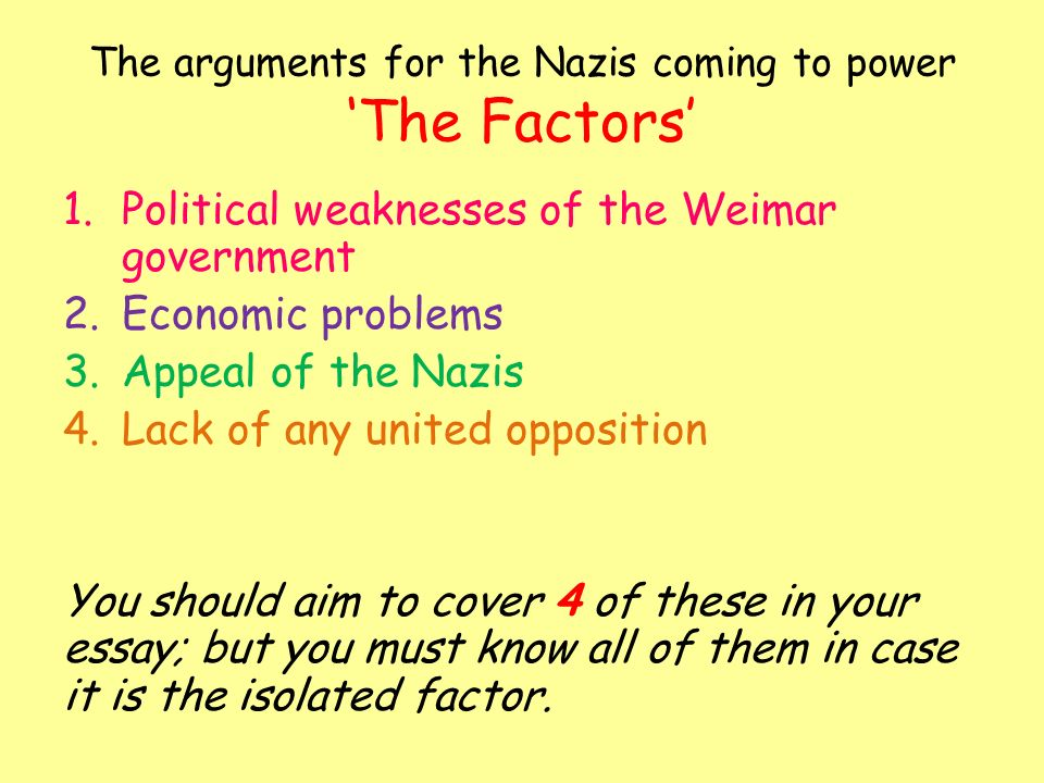 the nazi government essay Nazi germany essay  the totalitarian aspects of nazi germany the government of nazi germany was a fascist, totalitarian state they.
