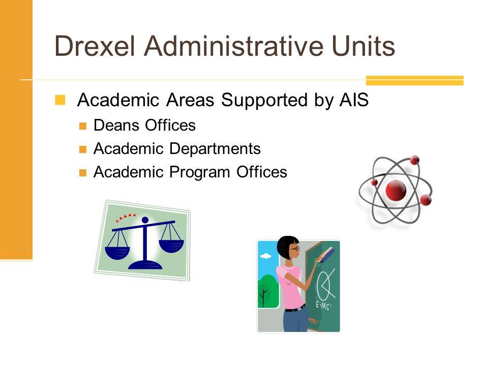 Drexel Administrative Units