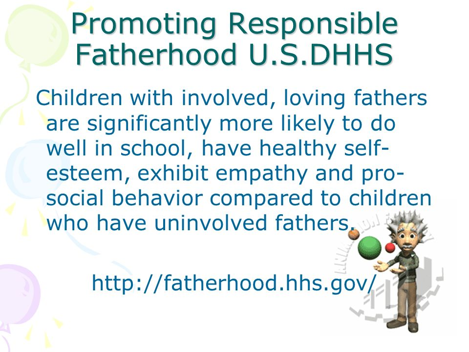 Promoting Responsible Fatherhood