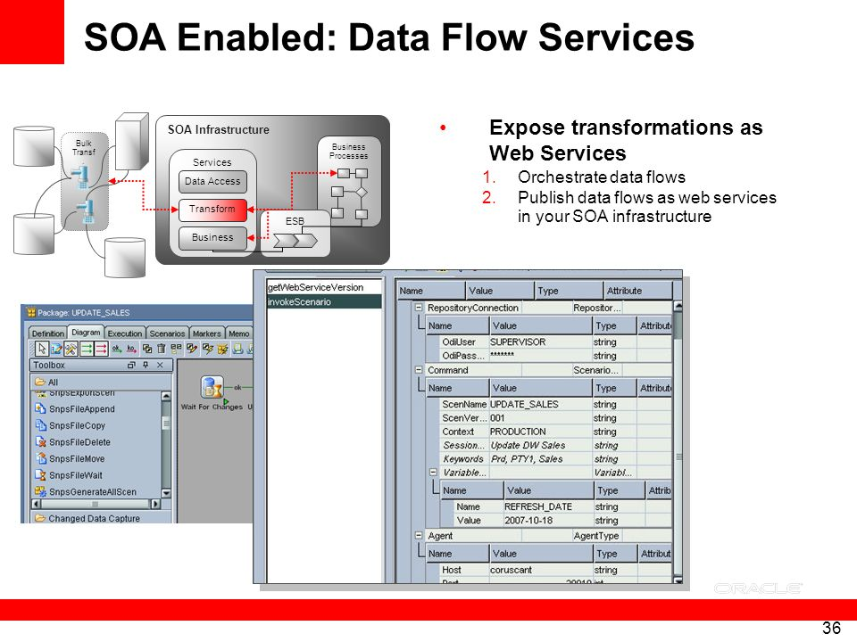 SOA Enabled: Data Flow Services