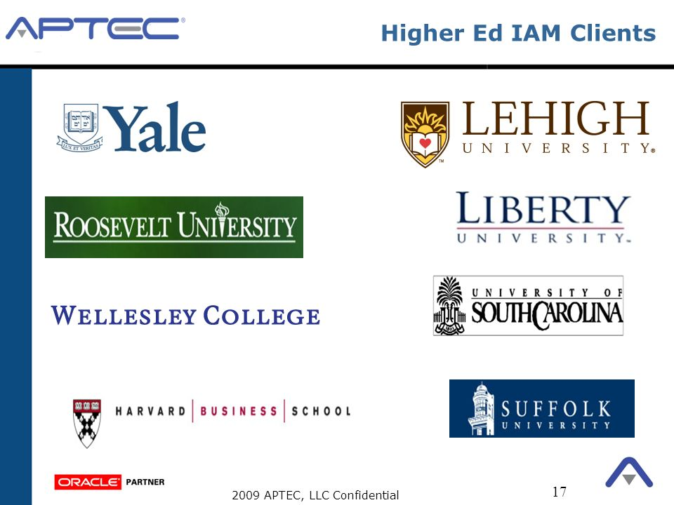Higher Ed IAM Clients