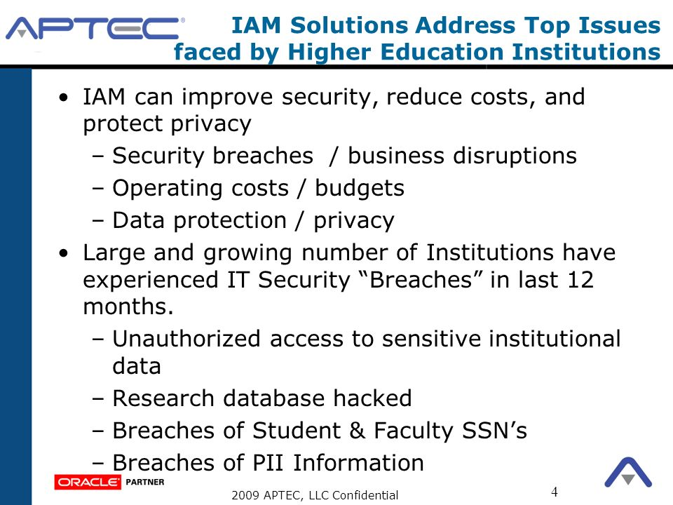 IAM Solutions Address Top Issues faced by Higher Education Institutions