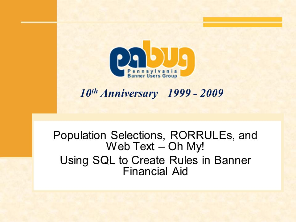 Population Selections, RORRULEs, and Web Text – Oh My!
