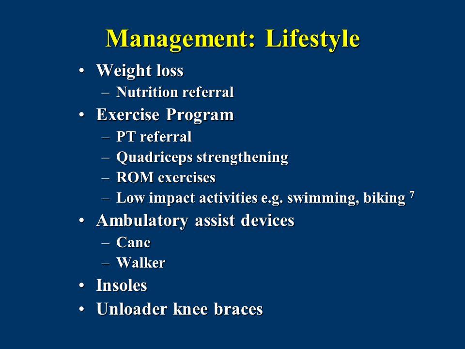 Management: Lifestyle