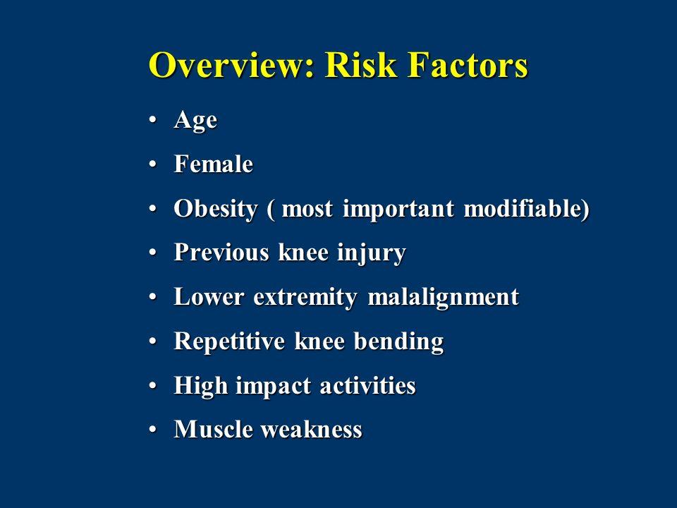 Overview: Risk Factors