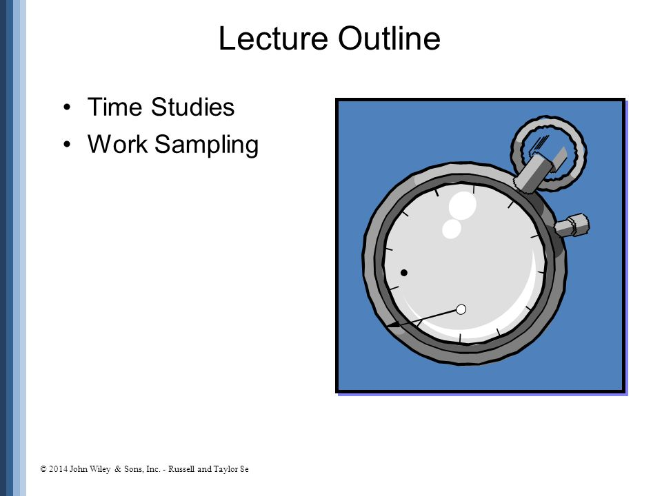WorkStudy is time study and work sampling for better ...