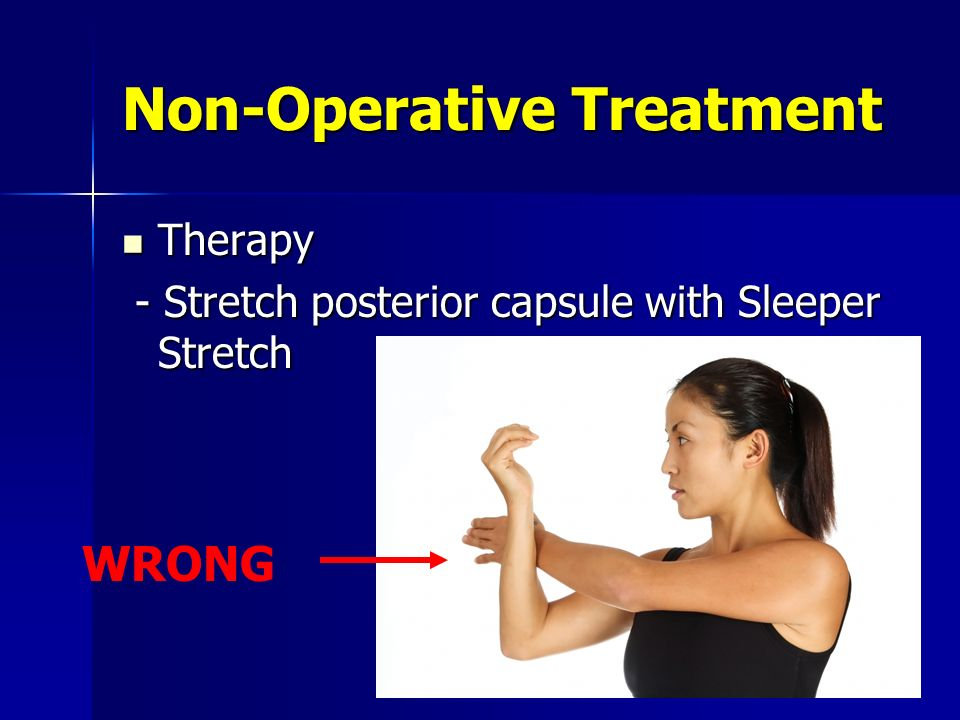 Non-Operative Treatment