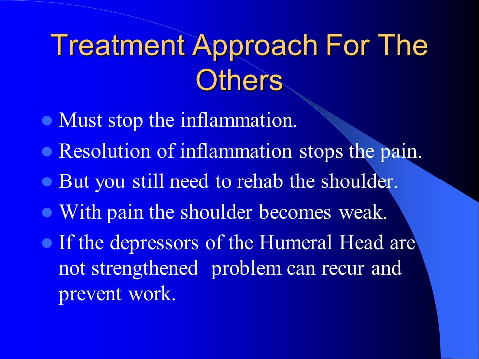 Treatment Approach For The Others