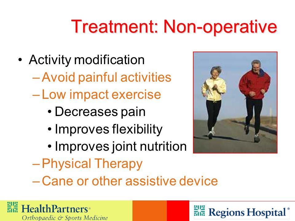 Treatment: Non-operative