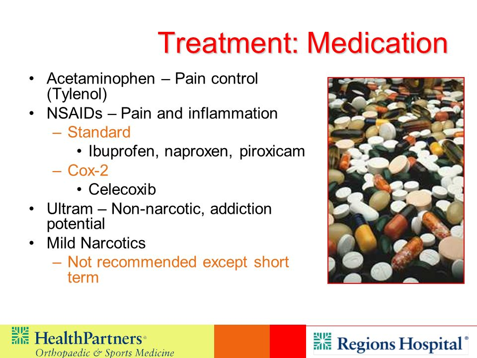 Treatment: Medication