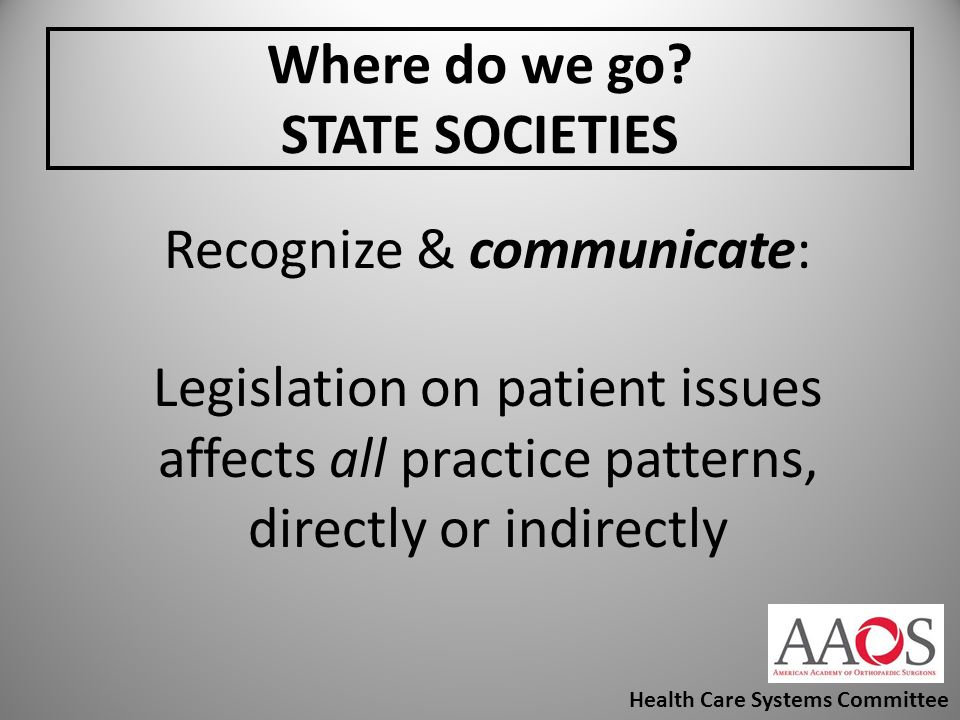 Where do we go STATE SOCIETIES
