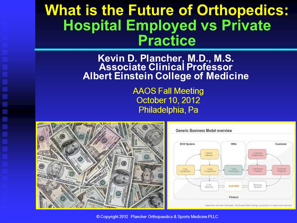 What is the Future of Orthopedics: