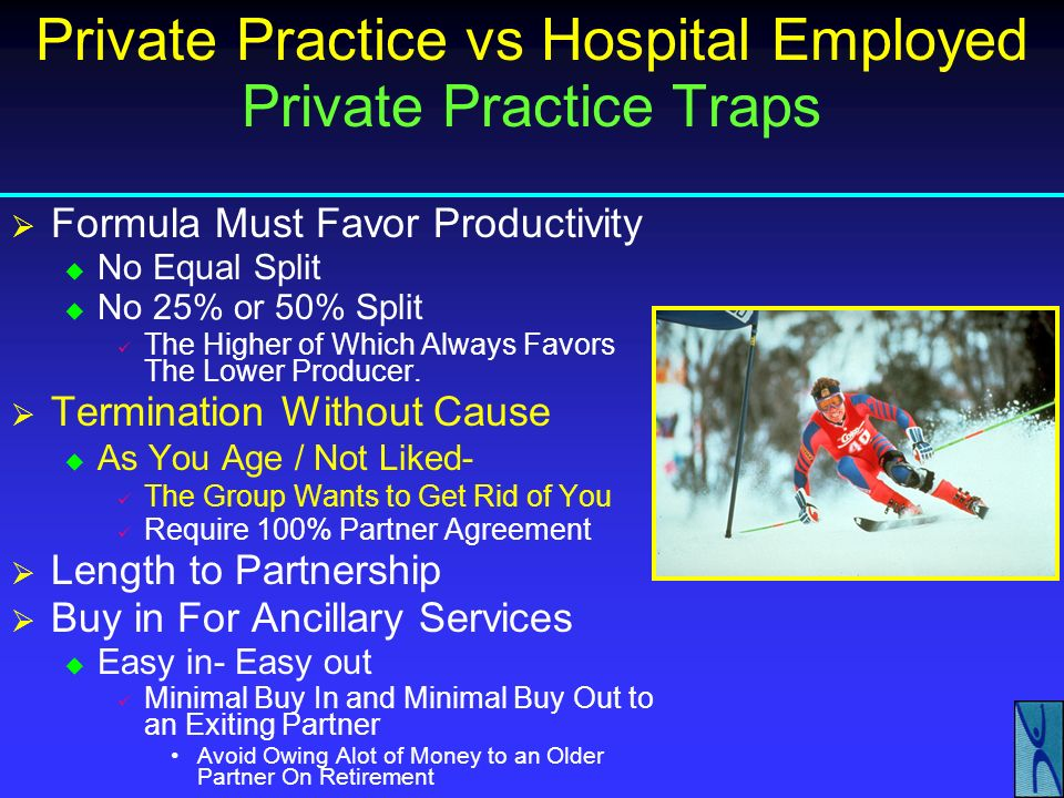 Private Practice vs Hospital Employed Private Practice Traps