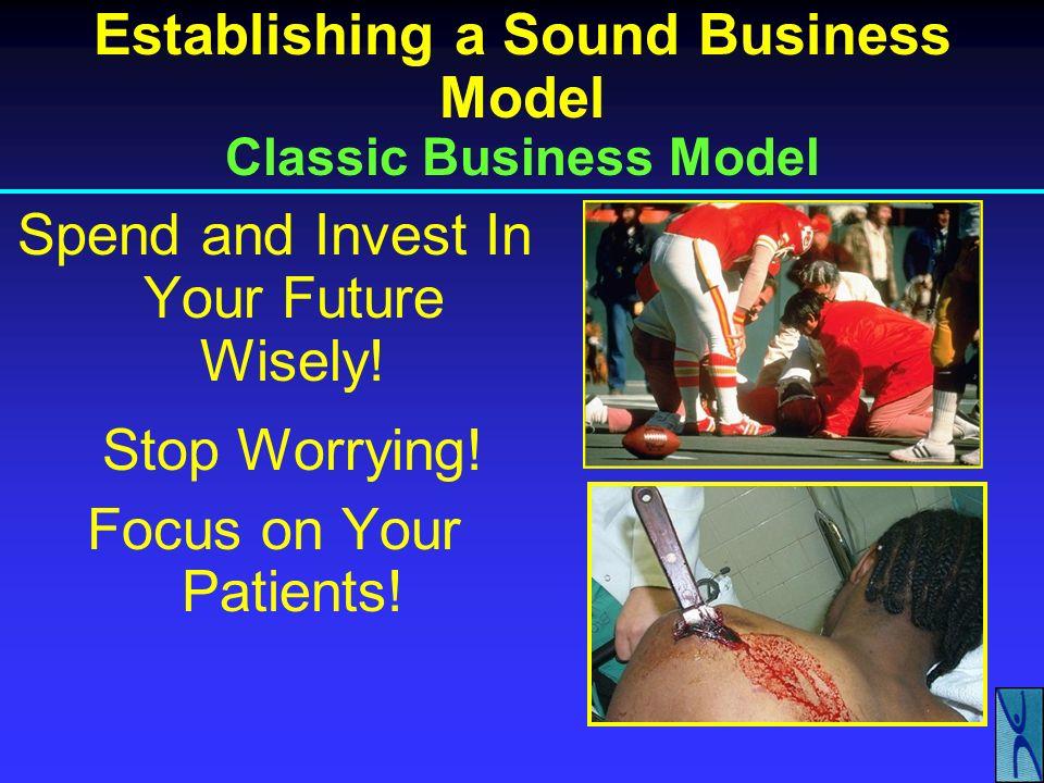 Establishing a Sound Business Model Classic Business Model