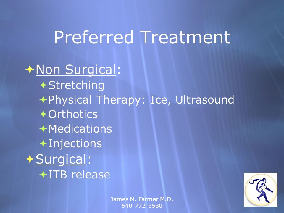 Preferred Treatment Non Surgical: Surgical: Stretching