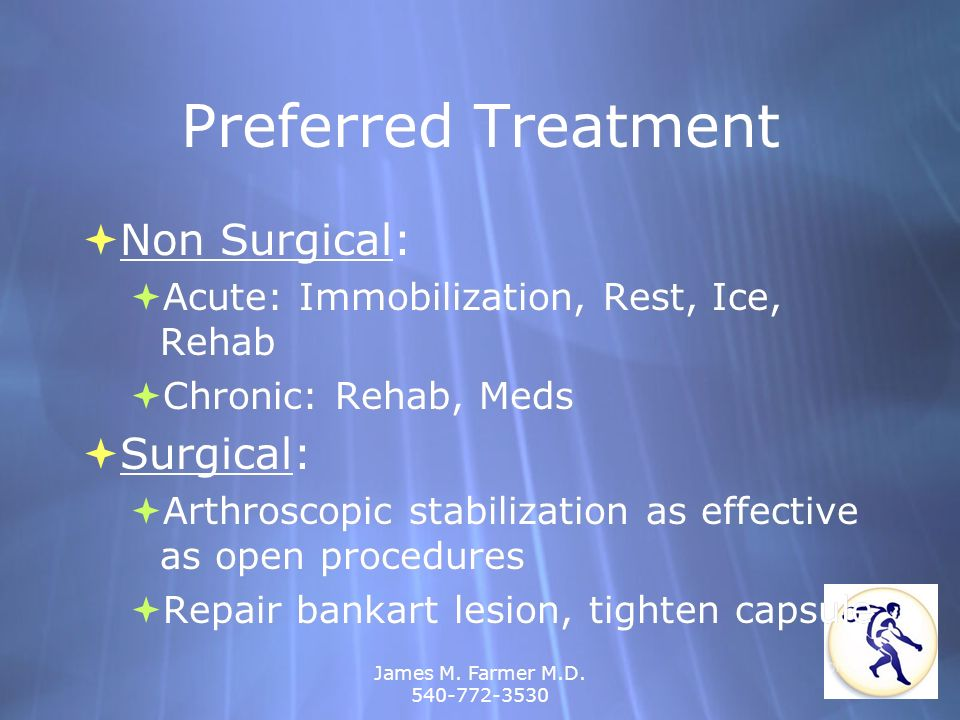 Preferred Treatment Non Surgical: Surgical: