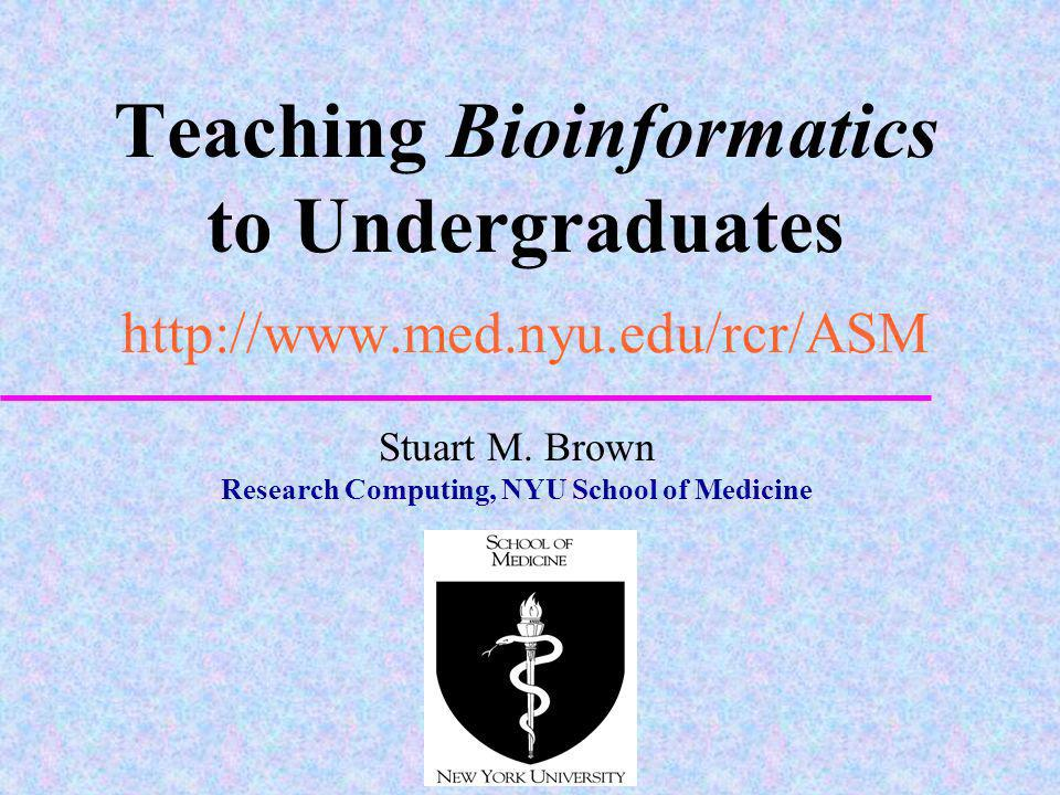 Research Computing, NYU School of Medicine
