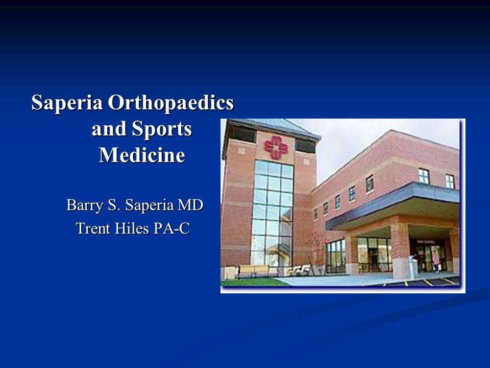 Saperia Orthopaedics and Sports Medicine