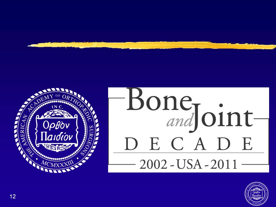 The American Academy of Orthopaedic Surgeons is committed to working with its sister organizations throughout the United States to raise awareness of the Bone and Joint Decade.