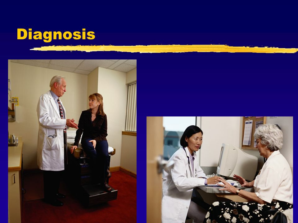 Diagnosis For all populations, the diagnosis of Osteoporosis is similar. Your doctor will utilize a combination of: