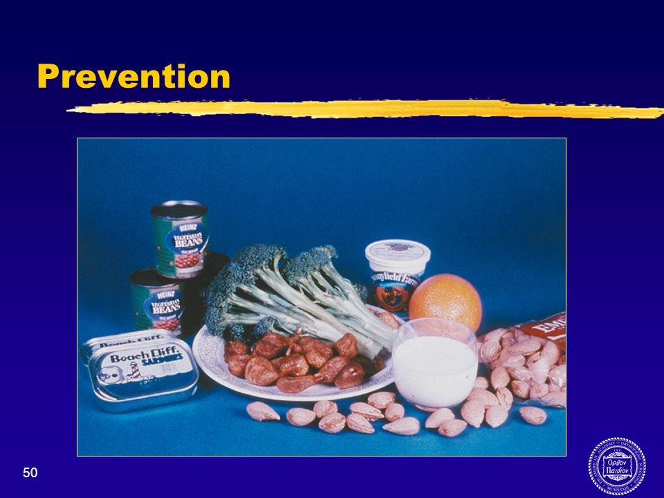 Prevention Calcium rich foods include: Yogurt Cheese Milk