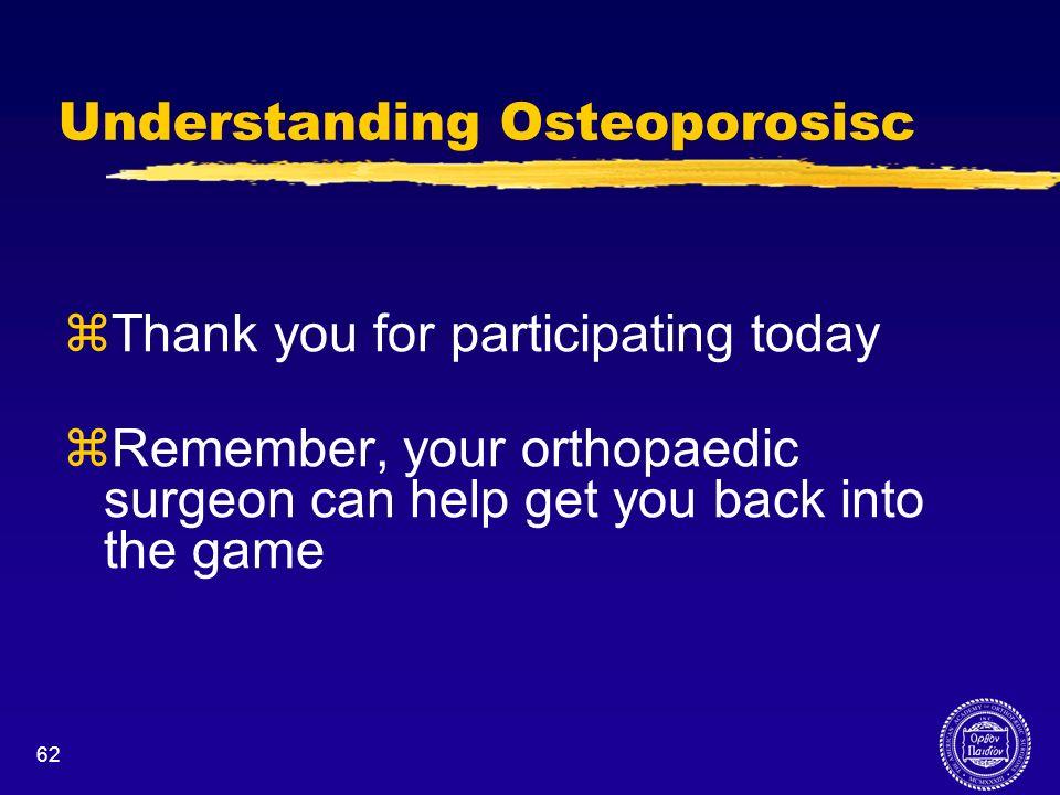 Understanding Osteoporosisc