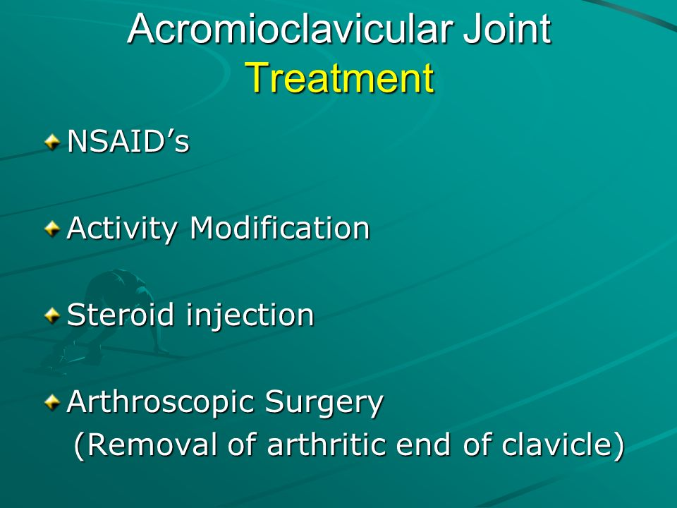 Acromioclavicular Joint Treatment