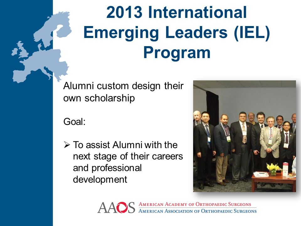 Emerging Leaders (IEL)
