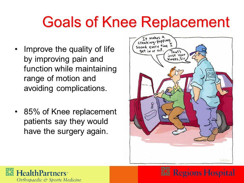 Goals of Knee Replacement